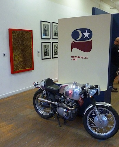 Motorcycles + Art - John Shea - Entrance - 72