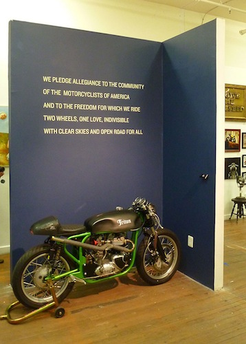 Motorcycles + Art - Pledge Wall - 72