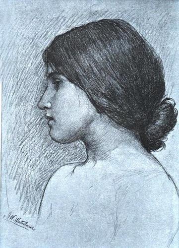 Waterhouse Drawing Head1