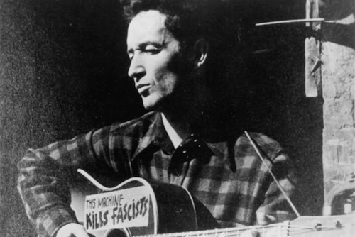 UNSPECIFIED - CIRCA 1940:  Photo of Woody Guthrie  Photo by Michael Ochs Archives/Getty Images