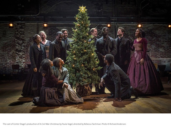 A Civil War Christmas, press