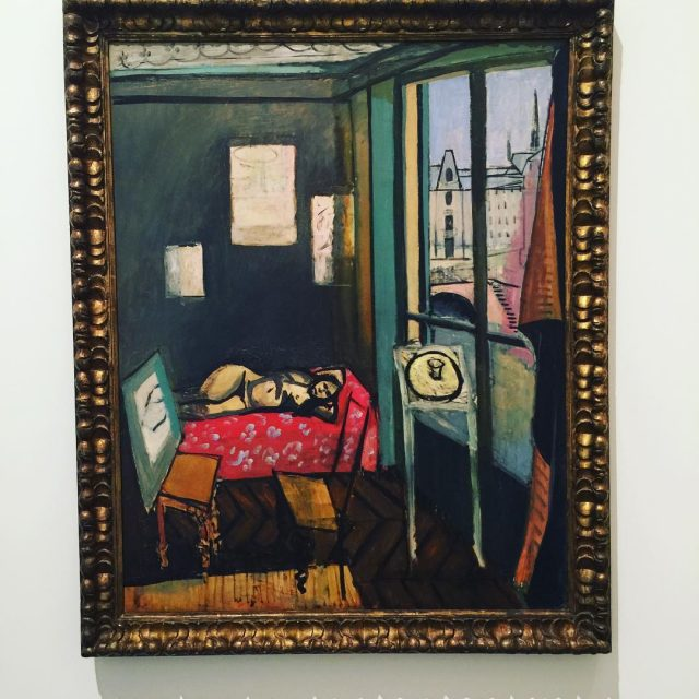 Matisse Studio Quai San Michel in Matisse Diebenkorn baltimoremuseumofart !!!hellip