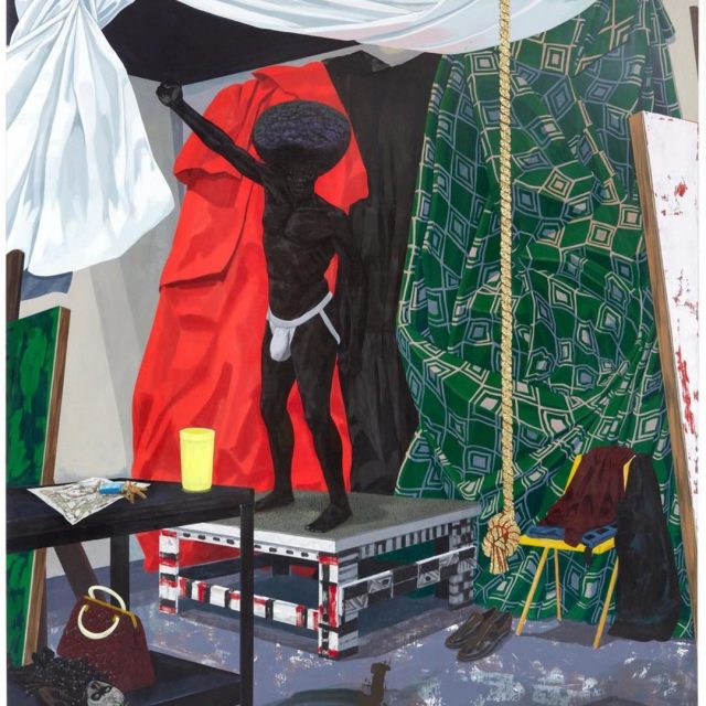 Kerry James Marshall The Academy 2012 from his new retrospectivehellip
