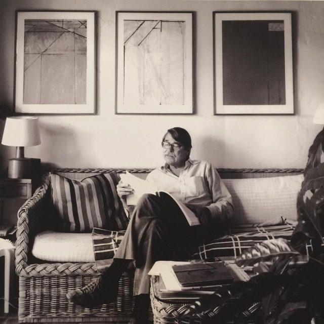 Richard Diebenkorn in his study  Matisse Diebenkorn baltimoremuseumofart !!!hellip