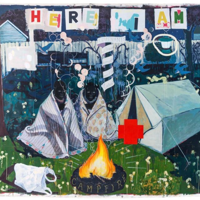 Campfire Girls 1995 by Kerry James Marshall in Mastry hishellip
