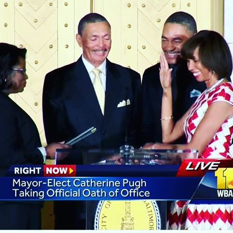 Catherine Pugh is Baltimores 50th Mayor congratulations hopful bmoreart baltimorehellip