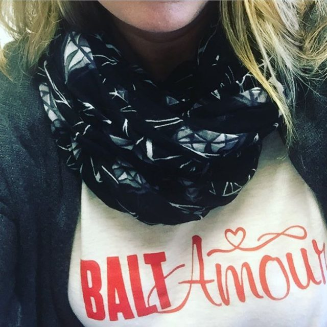 New Tshirt from baltimoreprints from the Made in Baltimore Holidayhellip