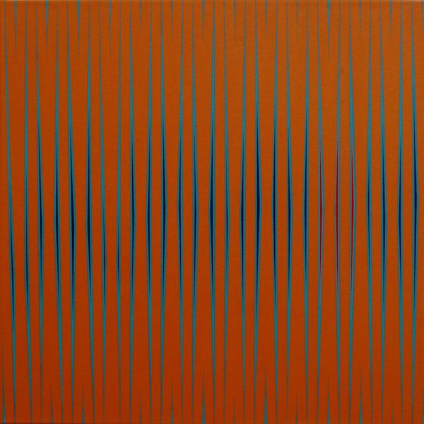 Epipelagic One, 2012. Acrylic on Canvas. 20 x 20 in