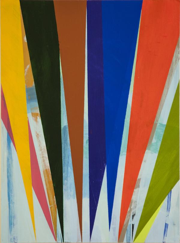 Fenster, 2013. Acrylic on Panel, 80x60cm.