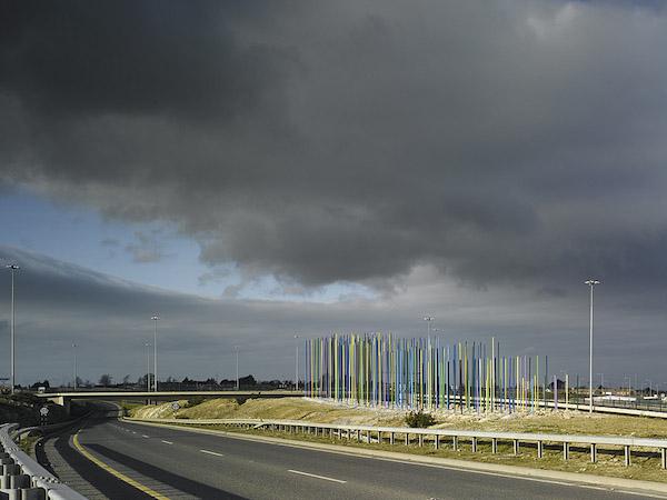 The Wave Sculpture: M50 Dublin, 2008.