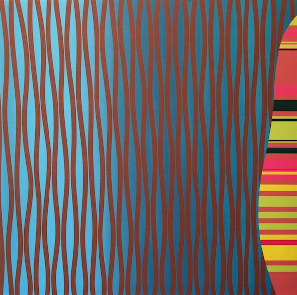 Underlying Structure Two, 2012. Acrylic on Canvas. 30 x 30 in