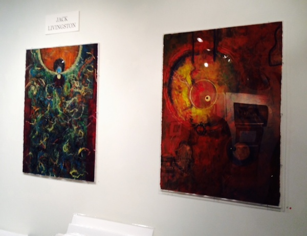 Two paintings by Jack Livingston at Fleckenstein