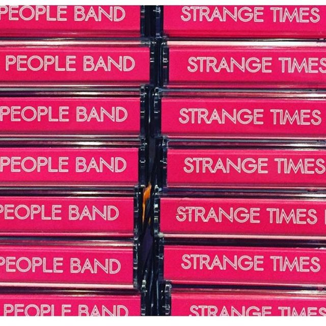 Music review today of Strange Times People Bands Sophomore untitledhellip