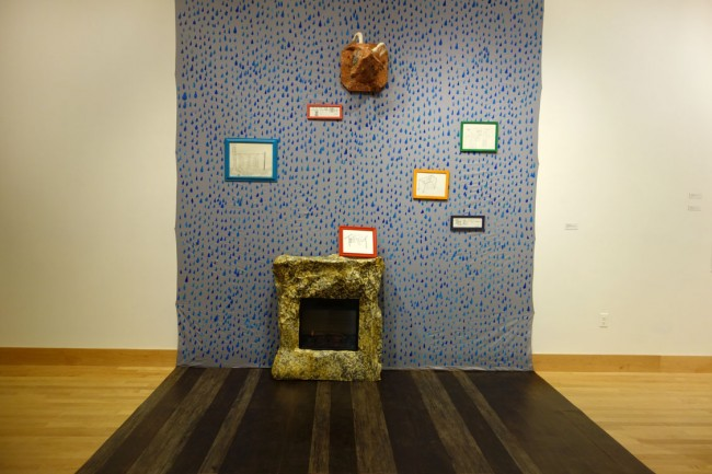 Margaret Rogers, Elements (Eugenia), Mixed Media Installation, 2014