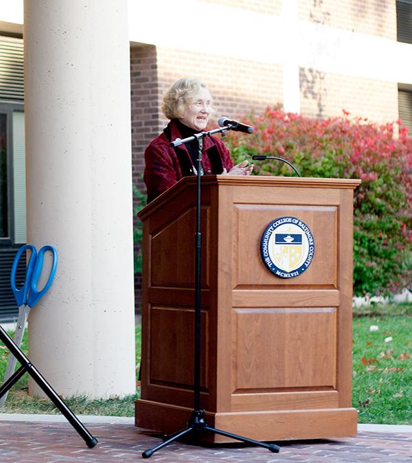 Welcoming remarks. Dr. Sandra Kurtinitis, President CCBC