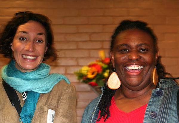 Left: Michelle McCallum.