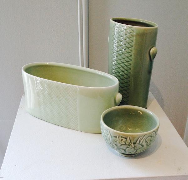 Ceramics by Yoshi Fuji