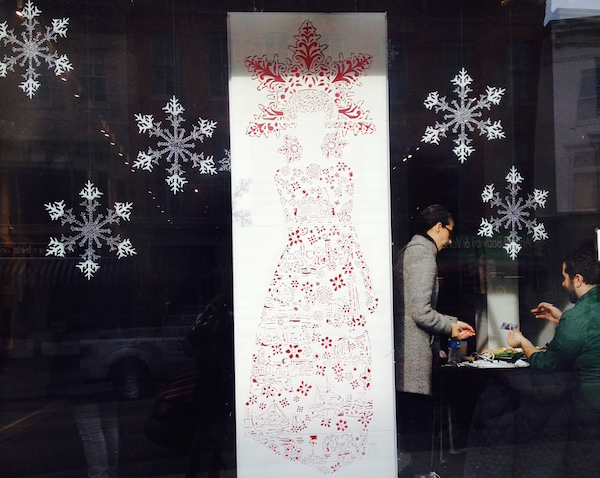 Joan Cox window design