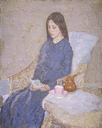 The Convalescent by Gwen John 1923-24