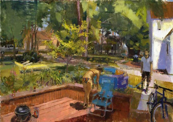 Backyard by Eve Mansdorf