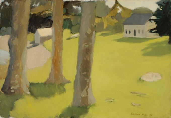 Farmhouse, Great Spruce Head Island, 1954 Fairfield Porter