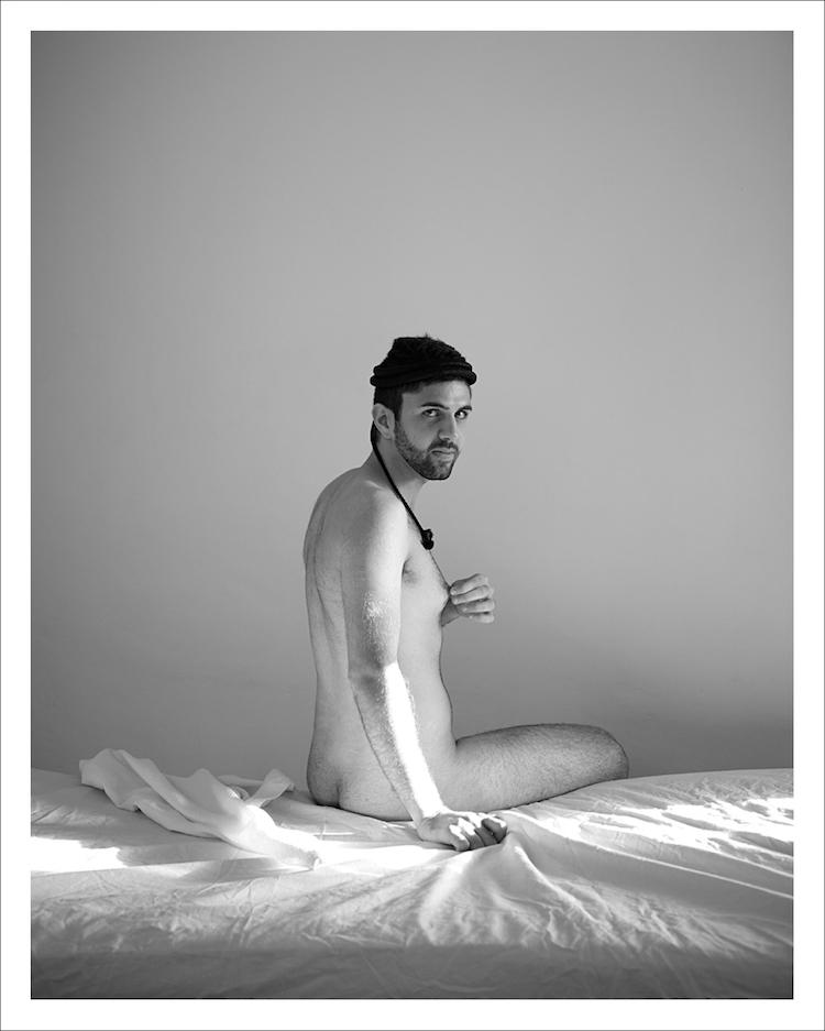 Uri Gersuni, Untiltled (George), 2013, inkject print, 50X40 cm