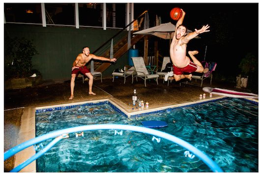 Pool Basketball BMORE ART SHOW
