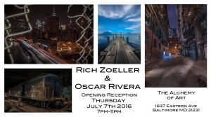Rich Zoeller and Oscar Rivera @ The Alchemy of Art @ The Alchemy of Art | Baltimore | Maryland | United States