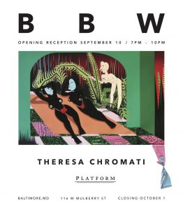 BBW, a solo exhibition of works by Theresa Chromati @ Platform Gallery @ Platform Gallery | Baltimore | Maryland | United States