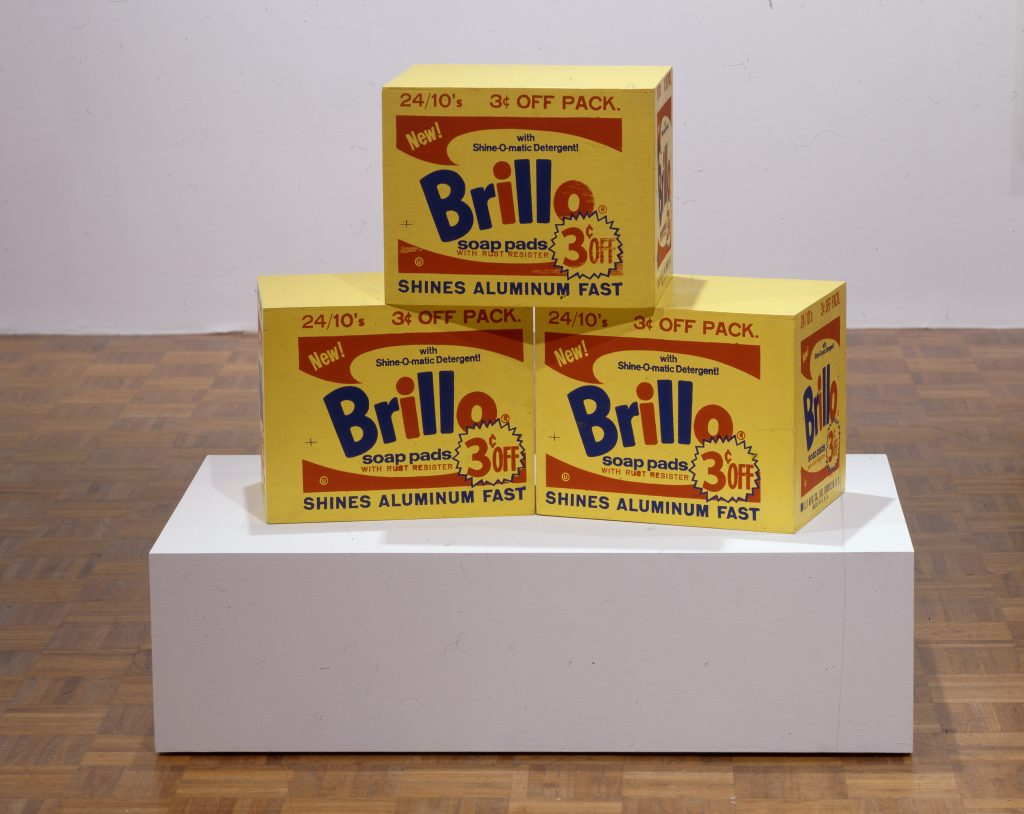 brillo boxes An hbo documentary on a warhol brillo box sculpture that broke an auction  record.