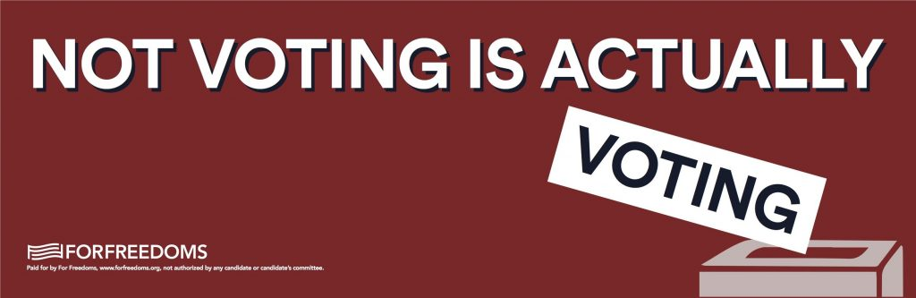 notvotingisactuallyvoting